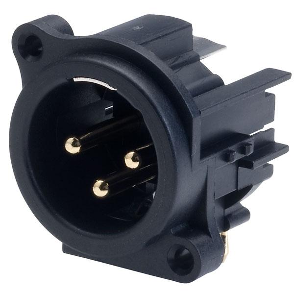 TruConnect Horizontal PCB XLR Plug