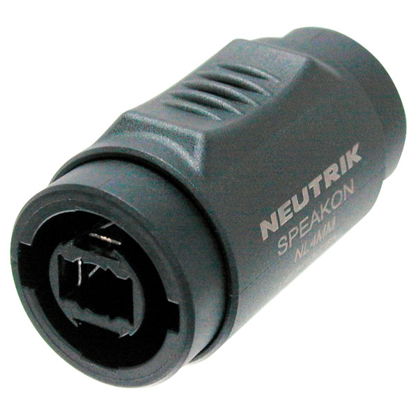 Neutrik NL4MMX Speakon Coupler