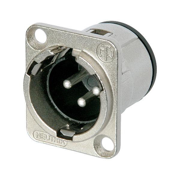 Neutrik NC3MD-V Vertical PCB Mount XLR Plug