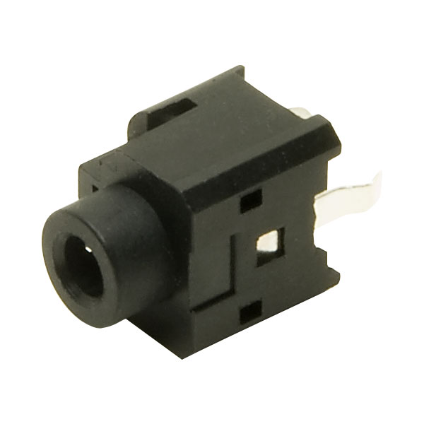 TruConnect 3.5mm Unswitched Stereo Vertical Jack Socket