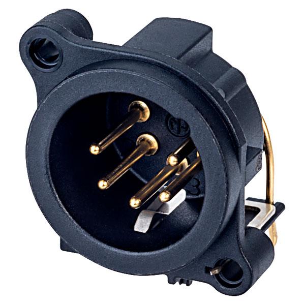 Neutrik NC5MAH 5 Pin XLR Male Socket (DMX)