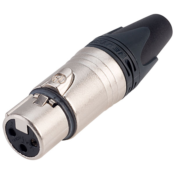 Neutrik NC3FXX 3-Pole XLR Cable Socket