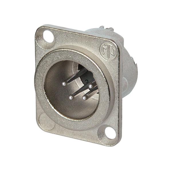 Neutrik 4 Pole NC4MD-LX Panel Plug