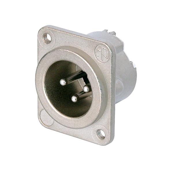 Neutrik 3 Pole NC3MD-LX-M3 Panel Plug