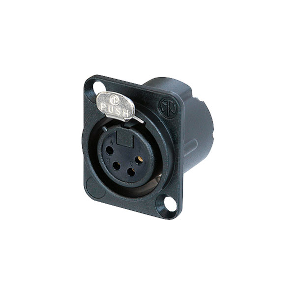 NEUTRIK nc4fd-lx socket 4pole XLR