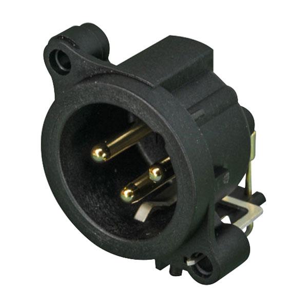 Neutrik NC3MAAH PCB 3-Pin XLR Plug
