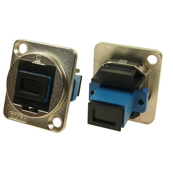 Cliff CP30215M Metal XLR Feedthrough SC Simplex SM Adaptor CSK Hole