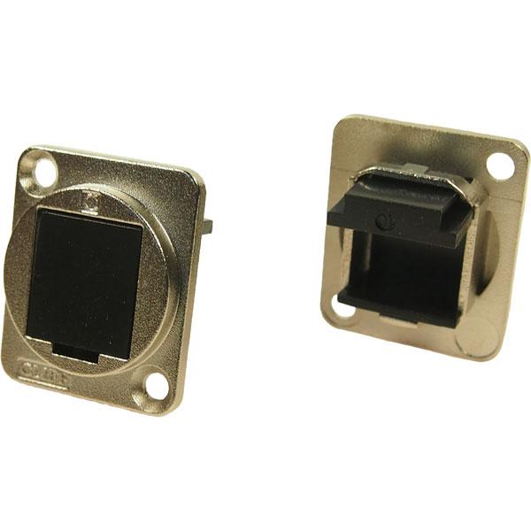 Cliff CP30241M Metal XLR Feedthrough Blanking Plate CSK Hole