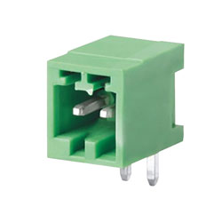 Camblock Plus CTBP93HC/2 2.5mm Pluggable Male Horizontal Terminal Block 2p