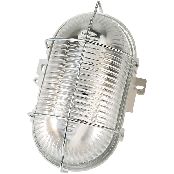 Brennenstuhl 127 012 0 Compact Light 60W with Metal Grill