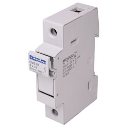 Mersen CMC 81 Single Pole DIN Rail 8x31 Fuseholder