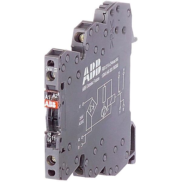 ABB RB121A 230V AC/DC 1SNA645004R0400 Screw Relay 1SPDT 10mA up to...