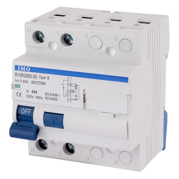 IMO B10R2063-30-B 63A 2P RCCB 30mA Type B 4Mod