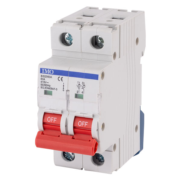 IMO BIS2063A 63Amps 2Pole Isolating Switch
