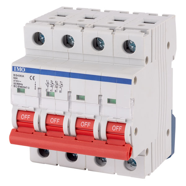IMO BIS4063A 63Amps 4Pole Isolating Switch