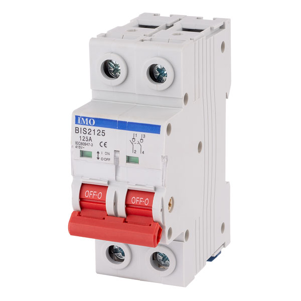 IMO BIS2125A 125Amps 2Pole Isolating Switch