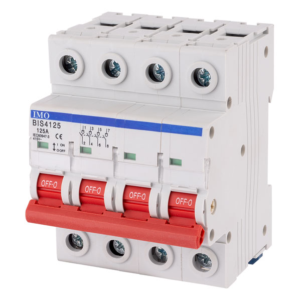 IMO BIS4125A 125Amps 4Pole Isolating Switch