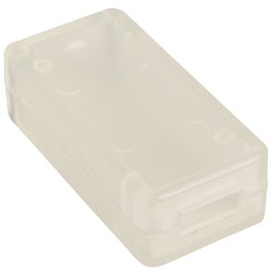 Hammond 1551USB2CLR Miniature Plastic USB Enclosure 50x25x15.5 Transparent Clear