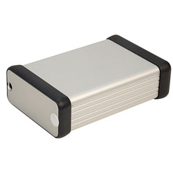 Hammond 1455C801 Extruded Aluminium Enclosure 82 x 54 x 23mm Natural