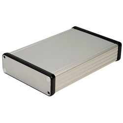 Hammond 1455L1601 Extruded Aluminium Enclosure 163 x 103 x 30.5mm Natural