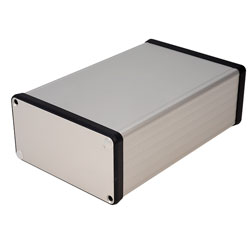 Hammond 1455N1601 Extruded Aluminium Enclosure 163 x 103 x 53mm Natural