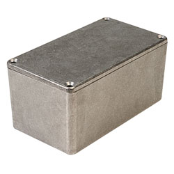 Hammond 1550D IP54 Diecast Aluminium Enclosure (115.3 x 64.5 x 54.9mm)