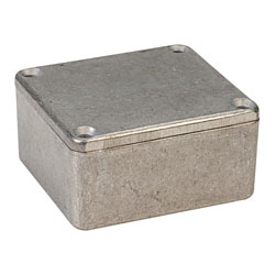 Hammond 1550Q IP54 Diecast Aluminium Enclosure (60 x 55 x 30mm)