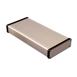 Hammond 1455L2201 Extruded Aluminium Enclosure 223 x 103 x 30.5mm Natural