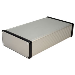 Hammond 1455Q2201 Extruded Aluminium Enclosure 223 x 120.5 x 51.5mm Natural