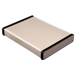 Hammond 1455R2201 Extruded Aluminium Enclosure 223 x 160 x 30.5mm Natural