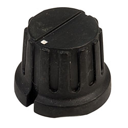 SCI PN-8E (PN-38C) Control Knob 6.1mm Shaft - Matt Black - 20.3mm