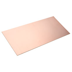 RVFM Copper Clad Single Sided FR2 Synthetic Resin Bonded Paper 100 x 220mm