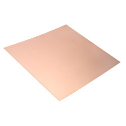 RVFM Copper Clad Single Sided FR2 Synthetic Resin Bonded Paper 233 x 220mm