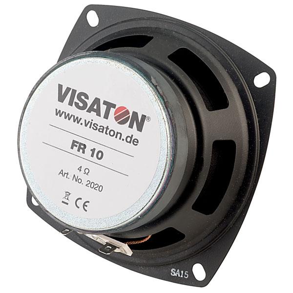 Visaton 2020 FR 10 - 4 Ohm Round Fullrange Speaker 10cm
