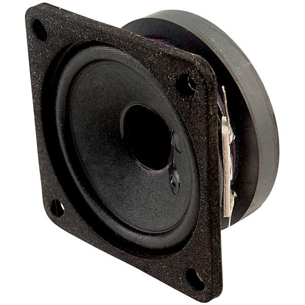 Visaton 2011 FRS 7 - 4 Ohm Square Fullrange Speaker 6.5cm
