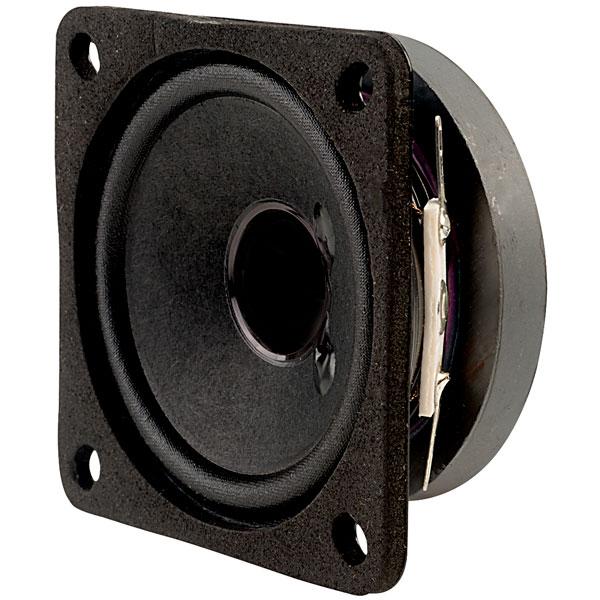 Visaton 2012 FRS 7 - 8 Ohm Square Fullrange Speaker 6.5cm