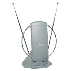 Mercury 120.635UK ST36A Indoor TV/FM Antenna With Amplifier