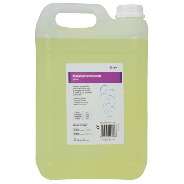 QTX 160.582UK Standard Fog Fluid Yellow 5L