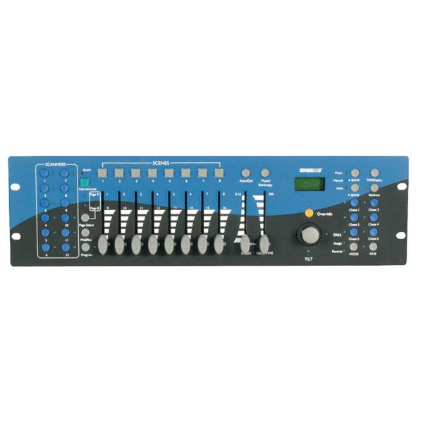 Velleman VDPC174 192-channel DMX Cont. W/ Joystick