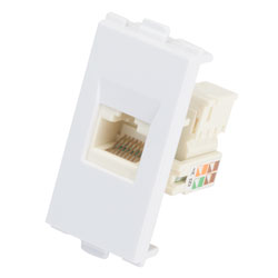 AV:Link 122.445UK Modules Wallplate - Cat5 RJ45 Modules