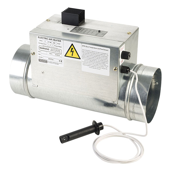 Neatafan 250mm Dia 3kW TC3 Thyristor Controlled Electric Air Duct ...