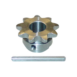 Ampflow Sprocket and Key for E30 and A28 Motors