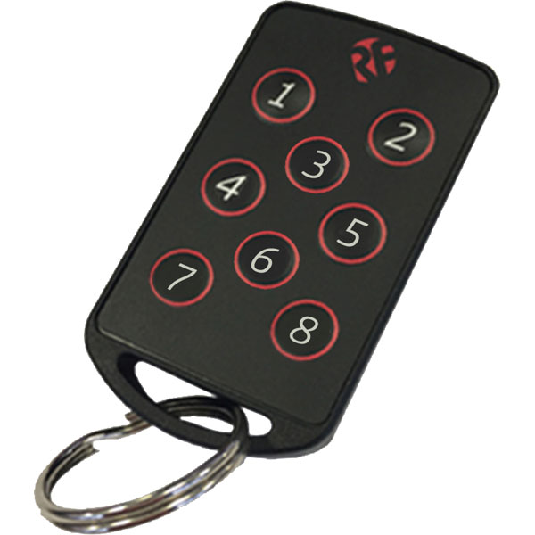 Image of RF Solutions FOBBER-8T8 8-Channel 868MHz Keyfob Transmitter