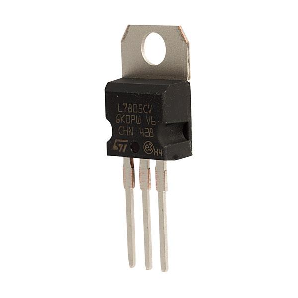 ST L7805CV +5V 1A Voltage Regulator