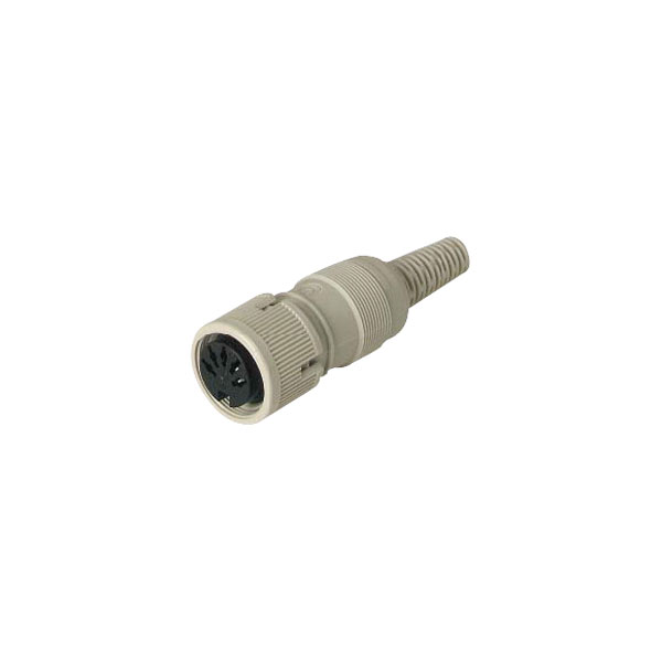 Hirschmann 930 960-517 MAK 5100 5-Pin Female DIN Socket, Cable Mou...