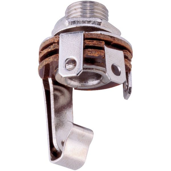 BKL 1109001Jack Socket 6.35 mm 2 Pin Mono