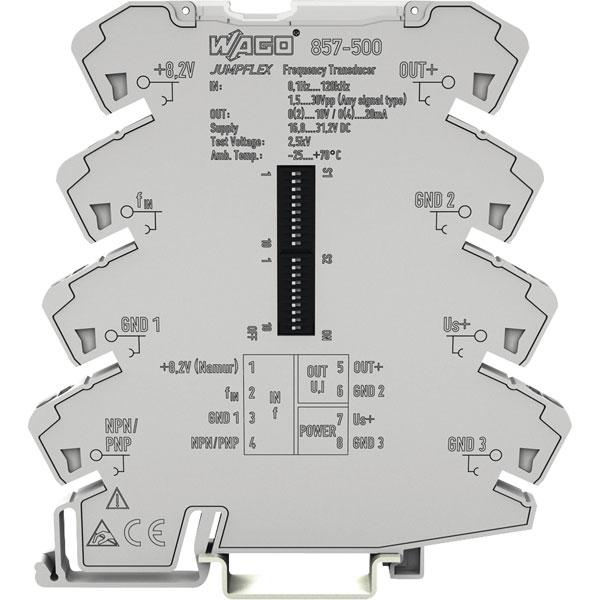 WAGO 857-500 JUMPFLEX® Transducer Frequency Transducer 0.1 Hz ... ...