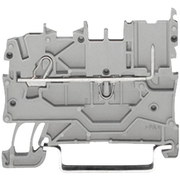 WAGO 2020-1201 1 Conductor 1 Pin Carrier Terminal Block Grey