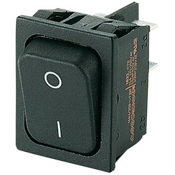 Marquardt 1832.3312 Rocker Switch DPST Off-On 250V AC 20 (4)A
