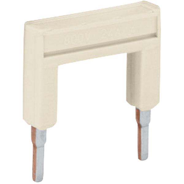 WAGO 2000-433 Insulated 1-3 Push-in Jumper Bar 2000 Series Light grey